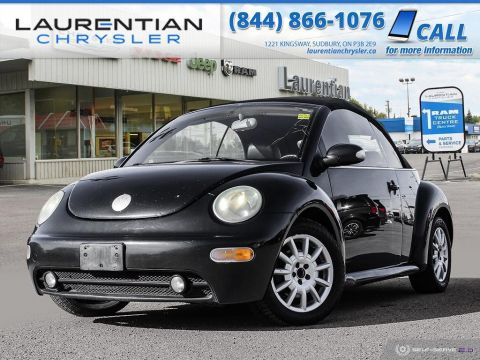 Pre-Owned 2005 Volkswagen New Beetle Convertible GLS - BLUETOOTH, HEATED SEATS, SELF CERTIFY!!! FWD Convertible