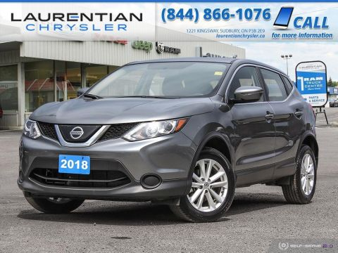 Pre-Owned 2018 Nissan Qashqai S - HEATED SEATS, BLUETOOTH, BACK-UP CAMERA, AWD!!! All Wheel Drive Sport Utility