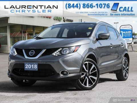 Pre-Owned 2018 Nissan Qashqai SL - HEATED SEATS, BLUETOOTH, NAV, BACK-UP CAM!!!!