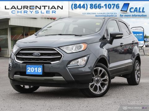 Pre-Owned 2018 Ford EcoSport Titanium - BLUETOOTH, NAV, HEATED SEATS, BACK-UP CAM!!!!