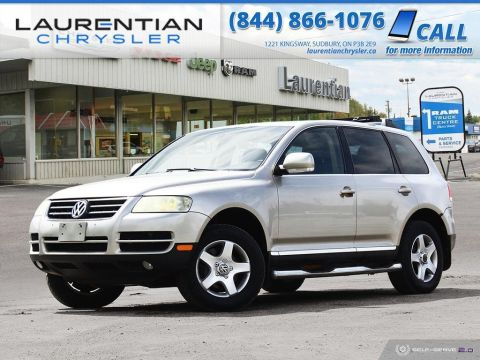 Pre-Owned 2004 Volkswagen Touareg - SELF CERTIFY!