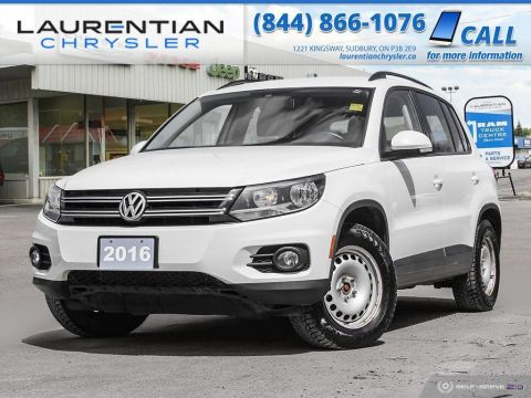 Pre-Owned 2016 Volkswagen Tiguan Comfortline - BLUETOOTH, BACK-UP CAM, HEATED SEATS!!!!
