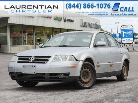 Pre-Owned 2003 Volkswagen Passat GLS - SUNROOF, HEATED SEATS, 5-SPD MANUAL, SELF CERTIFY!!! FWD 4dr Car